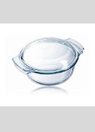 Кастрюля стеклянная (Пирекс/Pyrex) 2.1 л