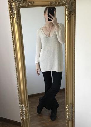 Свитер zara knit рр s