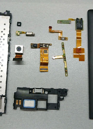 🔥Sony Xperia SP C5303 C5302 Разборка. Шлейф, камера, батарея.