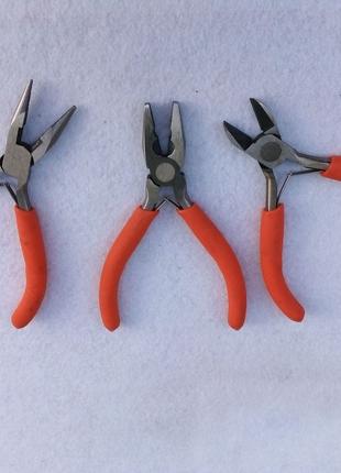 Мини бокорезы пассатижы утконосы кусачки щипцы круглогубцы набор
