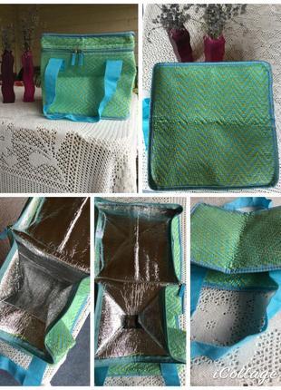 Компактная, вместительная сумка холодильник