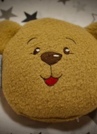 Подушка-грелка 12х11 см Мишка (для новорожденных) от коликов