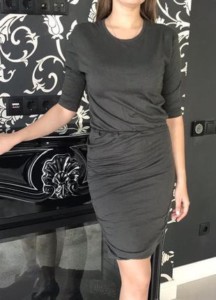 Фирменное, котоновое, базовое платье чулок, 100% котон, супер ...