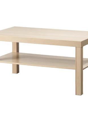 Журнальный Столик IKEA под дуб 90x55 См Прямоугольный Придиванный