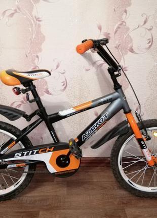 Велосипед Azimut stitch 18 дюйм