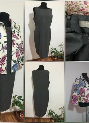 Фирменное платье миди, футляр, очень высокого качества, на люб...