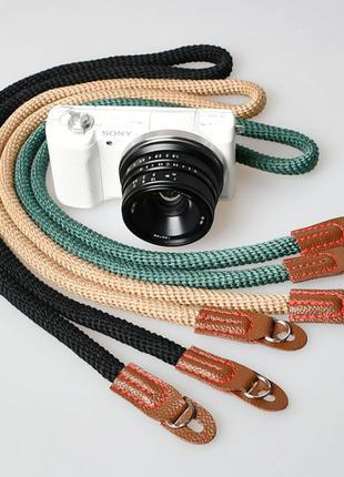 Ремень нашейный универсальный фотоаппарат Sony Canon Fuji Nikon