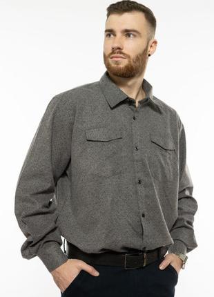 Мужская рубашка с длинными рукавами!