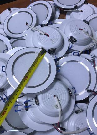 Светильники круглые 8W 12V точечные светодиодные LED встраивае...