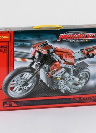 Конструктор Decool 3353 Мотоцикл