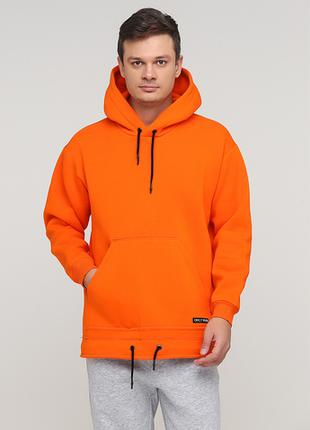 "Худи ""Only Man"" оранжевое (95-HU-01-02-orange)"
