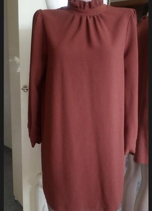 Платье трапеция в стиле 60-х  актуальный цвет 🌹 asos