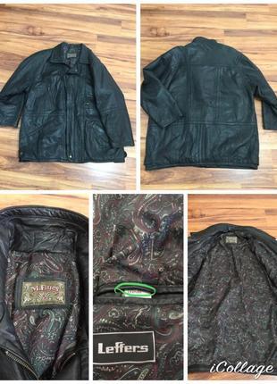 Фирменная, кожаная куртка, очень высокого качества, 100% лайко...
