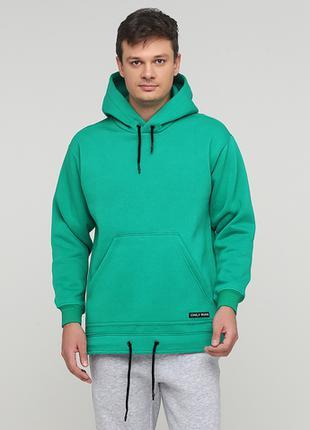 "Худи ""Only Man"" зеленое (95-HU-01-02-green)"