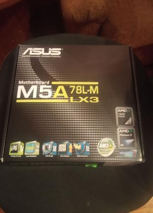 Материнская плата ASUS M5A78L-M LX3 (am3, am3+)