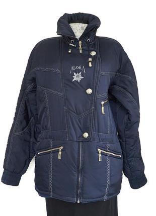 Аляска тепла жіноча куртка. зроблено в австрии. розмір м