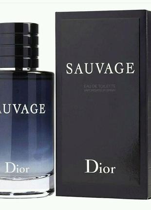Christian Dior Sauvage  100 мл Мужской парфюм