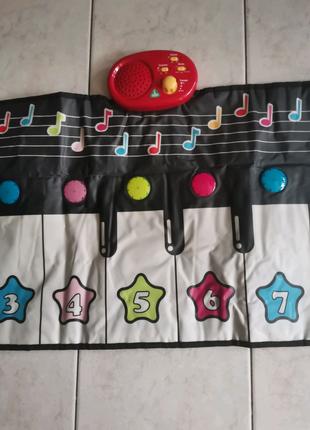 Музыкальная дорожка, коврик, пианино Elc (MOTHERCARE) в отличном