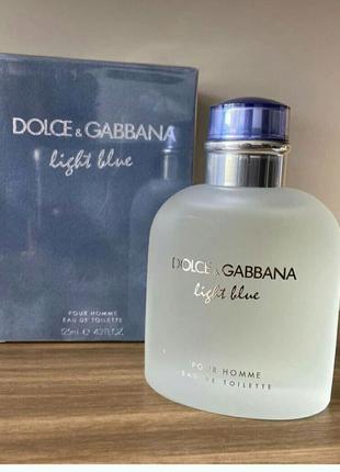 Dolce&Gabbana Light Blue Pour Homme 125 мл Мужской парфюм