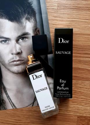 Dior Sauvage, туалетная вода, парфюм, духи, тестер, мини тестер
