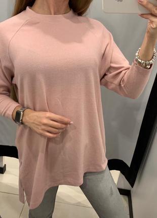 Мягкий пудровый свитер кофточка reserved есть размеры