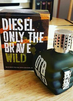 Diesel Only The Brave Wild Diesel  125 мл Мужской парфюм