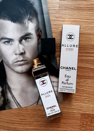 Chanel Allure Homme Sport туалетная вода, парфюм, духи, тестер