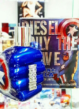 Diesel Only The Brave Captain America Мужской парфюм