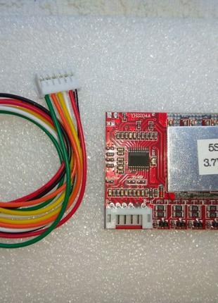 Контроллер заряда Li-ion с балансиром универсальный 5S