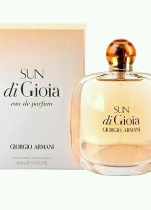 Giorgio Armani Sun di Gioia  100 мл женский парфюм