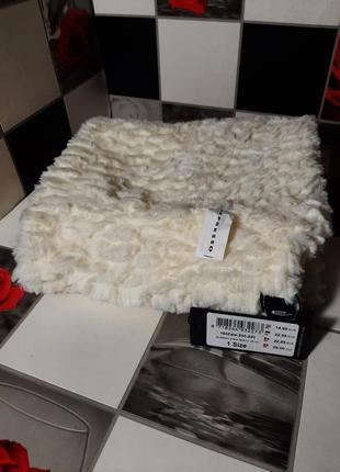 Роскошный шарф хомут