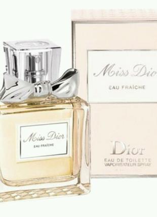 Christian Dior Miss Dior Eau Fraiche  женский парфюм