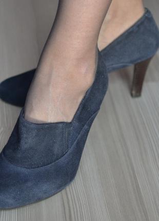 Фирменные супер-качественные замшевые Footglove wider fit -36р