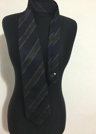 Стильный статусный галстук из натурального шелка