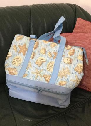 Вместительная сумка -холодильник