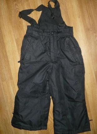Комбинезон штаны зимние черные rodeo 98р.