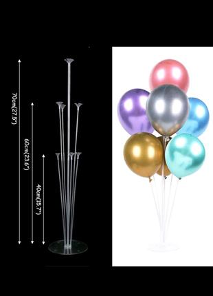 Подставка стойка для 7 воздушных шаров