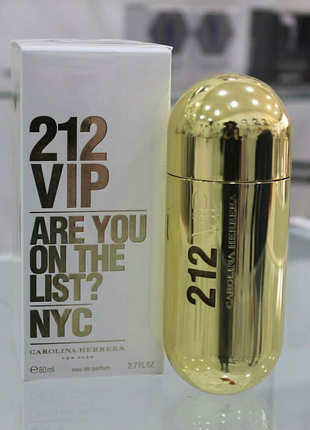 Carolina Herrera 212 VIP  женский парфюм