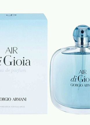 Giorgio Armani Air di Gioia  женский парфюм