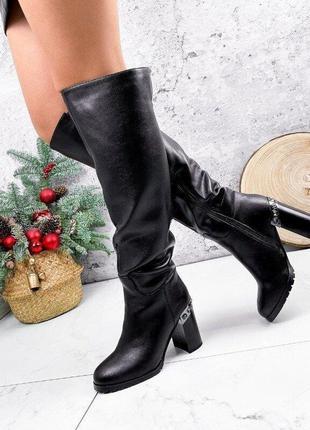 Зимние женские сапоги, женские сапоги, зимние сапоги на каблук...