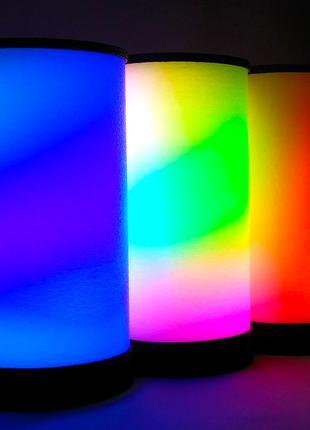 Светильник, ночник, LED лампа WiF, лампа гайвера, Огненная лампа