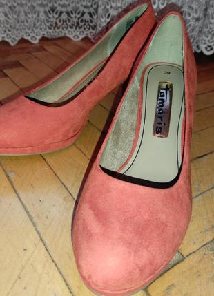 Туфли лодочки женские, туфли на среднем каблуке