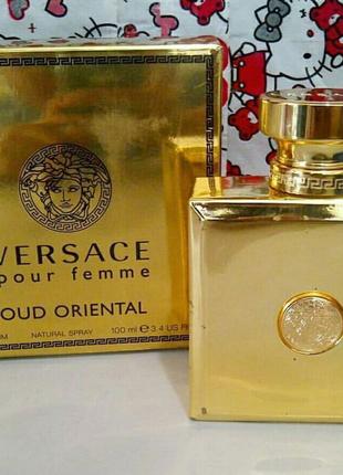 Versace Pour Femme Oud Oriental  женский парфюм