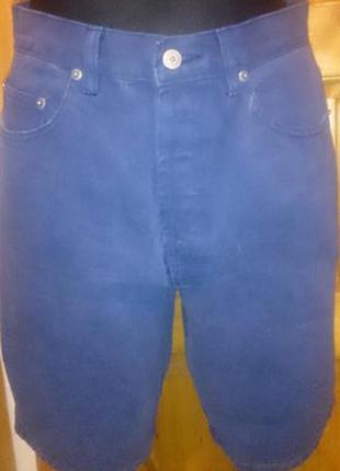 Стильні сині джинсові шорти с/м нові бірки second chance