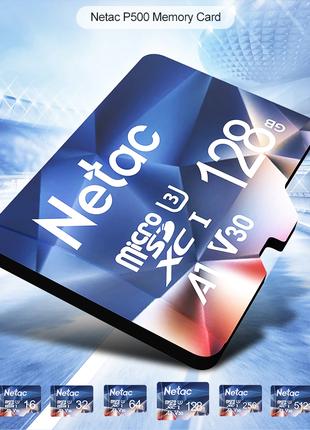Карты Памяти NETAC MicroSD 128/256 Гб
