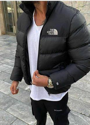 North face курточка