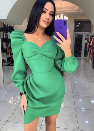 Платье русский королевский атлас шёлк