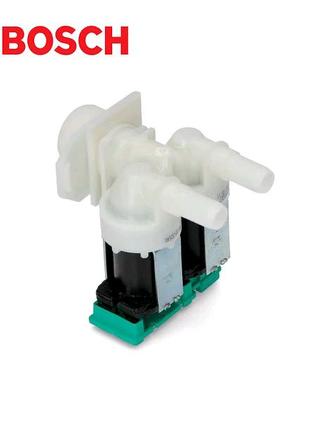 Клапан для стиральной машины Bosch, 2/180, d=10,5 мм, на плате -
