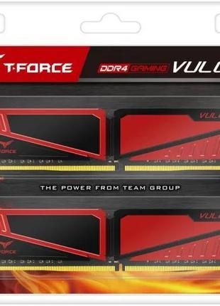Оперативная память 8GB Team Group Vulcan T-Force DDR4 2x4Gb