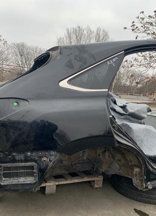 Задняя часть кузоваLexus RX 2009-2015 есть дефекты